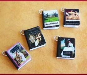 Miniature Book Charm..